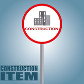 Construcion items — Stock Vector