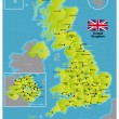 Vector de stock : United Kingdom