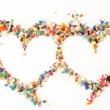 Stock Photo: Valentines hearts
