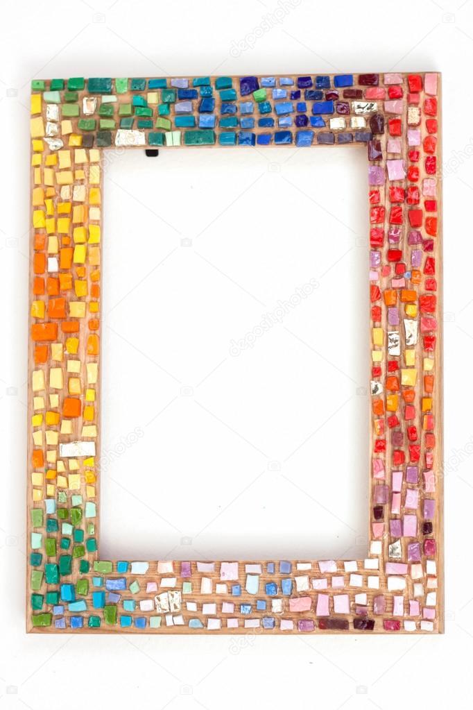 Mozaik el yap m er eve stok foto apelavi 39934349 for Frame per foto