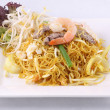 Sigapore noodles stir fried with vermicelli noodles. — Stock Photo