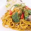 Hokkien noodles stir frief with Thai herb. — Stock Photo #30102385