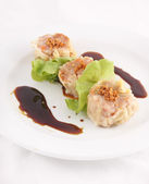 Dim sim, Dumpling. Chinese Appetizer — Stock Photo