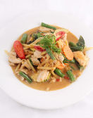 Chicken red curry, Thai food. — Stock Photo