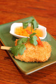 Fish stick, Thai entree. — Stock Photo