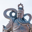 Chinese god sculpture — Stock Photo