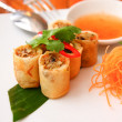Stock Photo: Spring roll