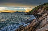 Sunset seascape, Samed island THAILAND — Stock Photo