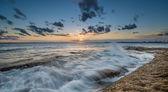 日落在拉彼鲁兹,悉尼 — 图库照片