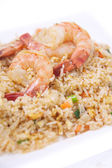 Thai fried rice. — Stock Photo