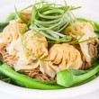 Stock Photo: Wonton soup