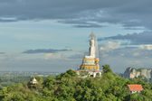 Big Buddha on Mountain in Thailand — Stock Photo