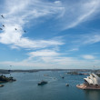 Navy fleet in Sydney harbour — Stock Photo #33148741