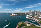 Opera house is the landmark of Sydney — Stock Photo