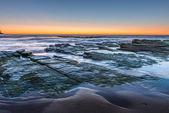 Sunrise from Sydney sea — Photo