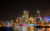 Sydney city nightscape. — Stock Photo