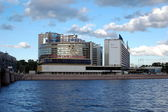 "Business center ""Petrovsky Fort"" in Saint-Petersburg — Stockfoto"