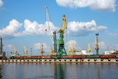 Puerto de carga — Foto de Stock