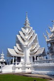 White temple in Chiang Rai — Stock Photo