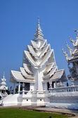 Bílý chrám v chiang rai — Stock fotografie