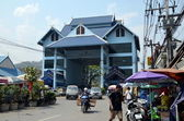 Border crossing between Thailand and Myanmar — Stock Photo