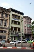 Guesthouses in  Yangon — Стоковое фото