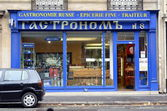 Russian Gastronomy in Paris — Stock Photo