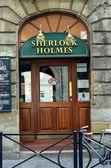 English pub Sherlock Holmes — Stok fotoğraf