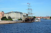 Frigate Flying Dutchman, St. Petersburg — Stock Photo