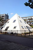 Piramid in Amsterdam, Holland — Stock Photo