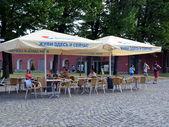 Summer cafe — Stock Photo