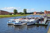 Tourist boats — Stock Photo