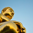 Sitting Buddha statue — Stock Photo
