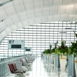Corridor to the Gate at Suvarnabhumi Airport — Stock Photo