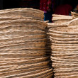 Webbed basket made from Bamboo — Stock Photo #32295497