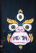 Kylin painting at Phelri Nyingmapa Monastry in Kalimpong — Stock Photo