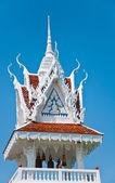 Bell Tower at Tham Ku Ha Swan Temple in Ubonratchathani, Thailan — Stock Photo