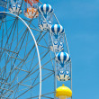 The colorful ferris wheel — Lizenzfreies Foto