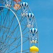 The colorful ferris wheel — ストック写真