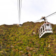 Stock Photo: Cable car on mountain at National Park Unzen, Obama, Japan