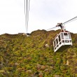Stock Photo: Cable car on the mountain at National Park Unzen, Obama, Japan