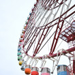 Colorfull Ferris wheel at Odaiba, Japan — Stock Photo
