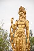 статуя бодхисаттвы — Стоковое фото