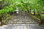 Stairs at Ryoanji Temple at Kyoto, Japan — Stock Photo