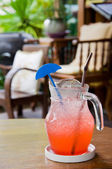The cool drink in the jug — Stock Photo