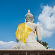 Backside of Sitting buddha in Thailand — Stock Photo