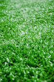 The astroturf for soccer as background — Stock Photo