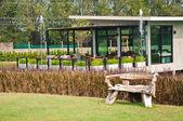 Bahçe koltuk — Stok fotoğraf