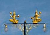 El ángulo de oro de estilo tradicional tailandés — Foto de Stock
