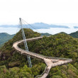 The Langkawi Sky Bridge in Langkawi Island — Stock Photo